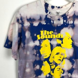 The Sounds Bleach Dyed Band Graphic Tee